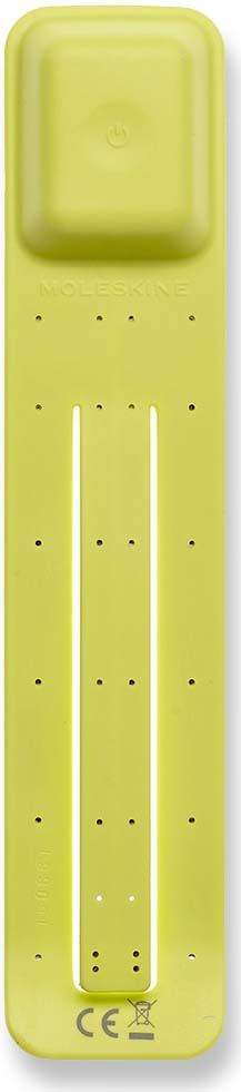 Фонарик-закладка Moleskine Booklight, светодиодный, цвет: желтый фонарик beyblade бейблейд morph lite цвет зеленый