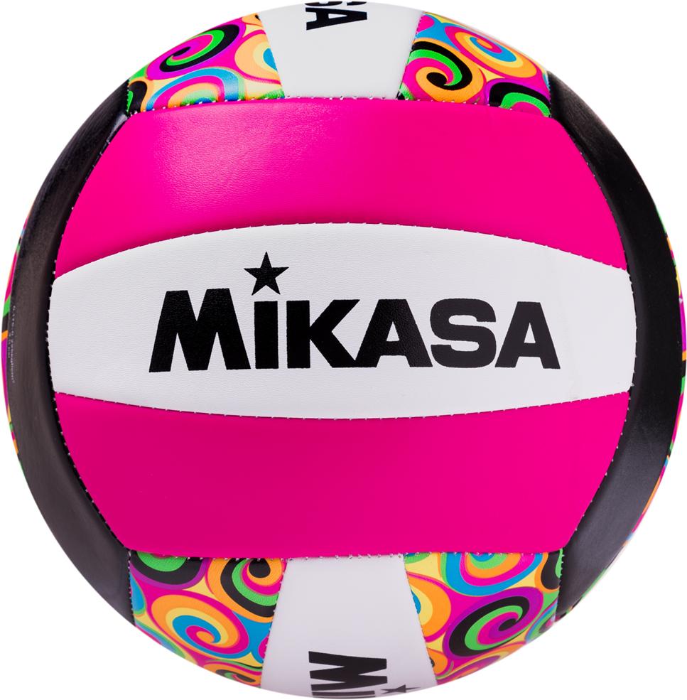 Мяч волейбольный Mikasa GGVB-SWRL, цвет: белый, фиолетовый, розовый, размер 5 мяч волейбольный indigo blossom 5