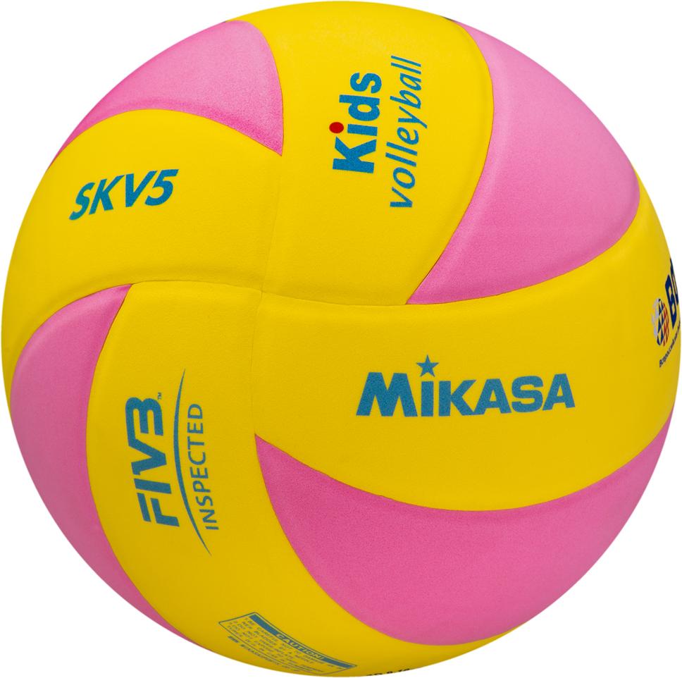 Мяч волейбольный SKV5 YP FIVB Inspected Стандарт по параметрам, предъявляемым к детскому тренировочному волейбольному мячу. Подходит для игры в зале. Яркий клееный 8-ми панельный дизайн, покрытие из синтетической пены ЭВА. Облегченный мяч предназначен для детей не старше 13 лет.  Инспектирован FIVB (Международная федерация волейбола) - сертификат FIVB Inspected.  Foam cover - мягкая вспененная поверхность мяча из синтетической пены ЭВА, бархатистая на ощупь. Такую поверхность можно мыть.