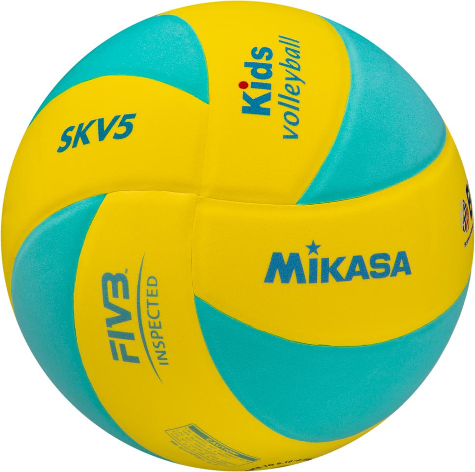 Мяч волейбольный SKV5 YLG FIVB Inspected Стандарт по параметрам, предъявляемым к детскому тренировочному волейбольному мячу. Подходит для игры в зале. Яркий клееный 8-ми панельный дизайн, покрытие из синтетической пены ЭВА. Облегченный мяч предназначен для детей не старше 13 лет.  Инспектирован FIVB (Международная федерация волейбола) - сертификат FIVB Inspected.  Foam cover - мягкая вспененная поверхность мяча из синтетической пены ЭВА, бархатистая на ощупь. Такую поверхность можно мыть.
