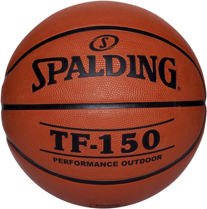 Мяч баскетбольный Spalding TF-150, цвет:  коричневый, черный, размер 6 Spalding