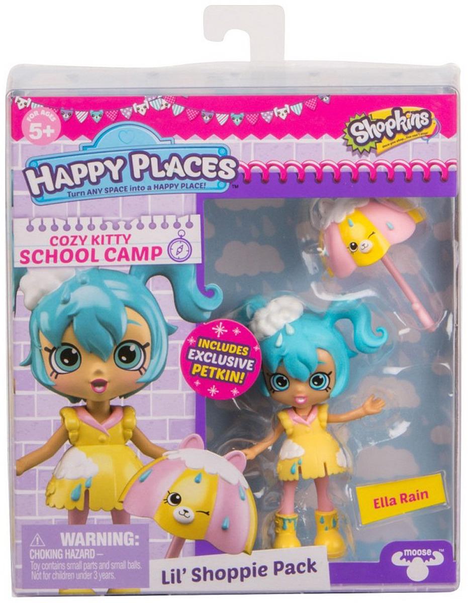 Игровой набор с куклой Happy Places Элла Дождик happy places 56193 посылка сюрприз