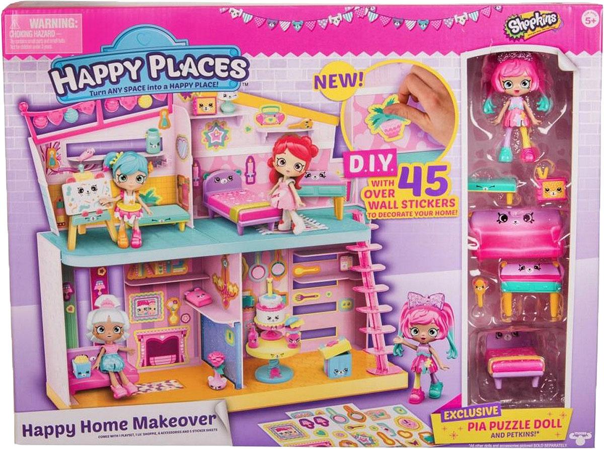 Игровой набор с куклой Happy Places Happy Home happy places 56193 посылка сюрприз