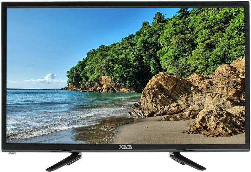 Телевизор Polar P28L21, цвет: черный цена и фото