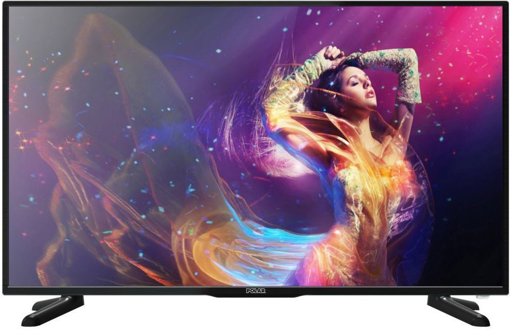 Телевизор Polar P43L31T2C, цвет: черный телевизор телефункен