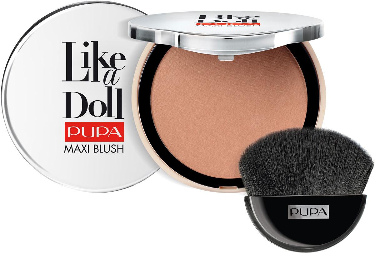 все цены на Румяна компактные для лица Pupa Like A Doll Maxi Blush, оттенок №301, 9,5 г онлайн
