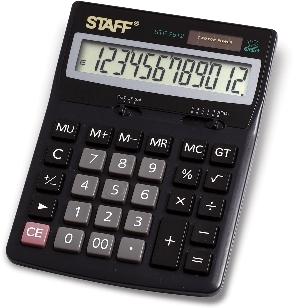 Калькулятор настольный Staff STF-2512 200pcs 2512 12r 12r ohm 5