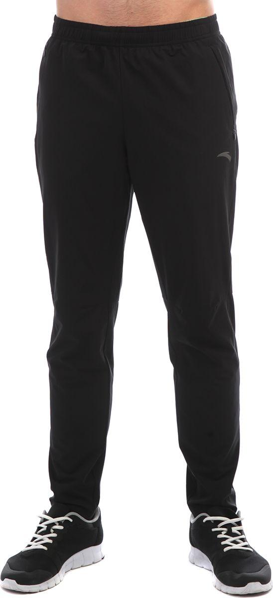 Брюки мужские Anta, цвет: черный. 85835501-. Размер 3XL (56)