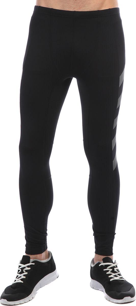 Тайтсы мужские Anta, цвет: черный. 85835740-1. Размер XXL (54)