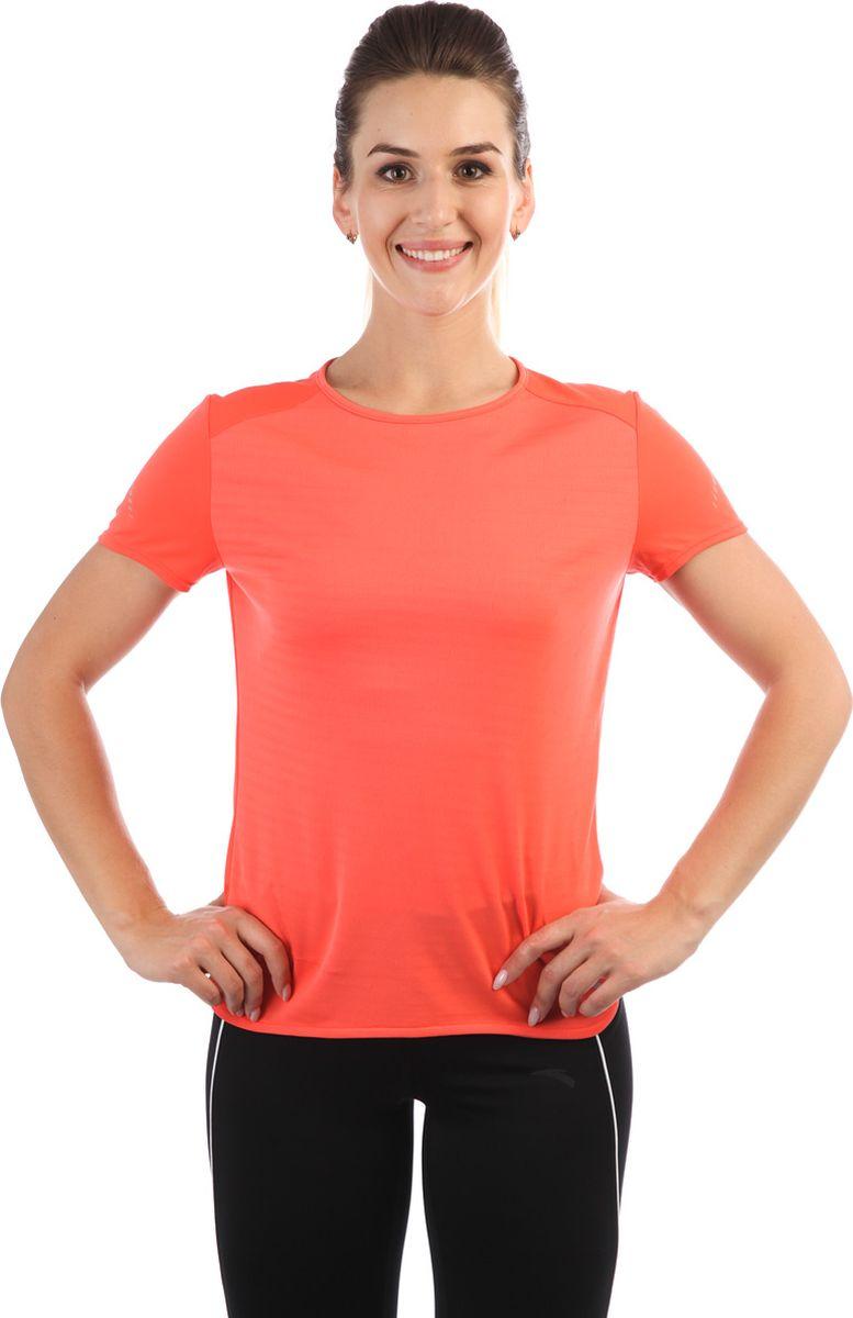 Футболка женская Anta, цвет: кораловый. 86835141-2. Размер L (48)