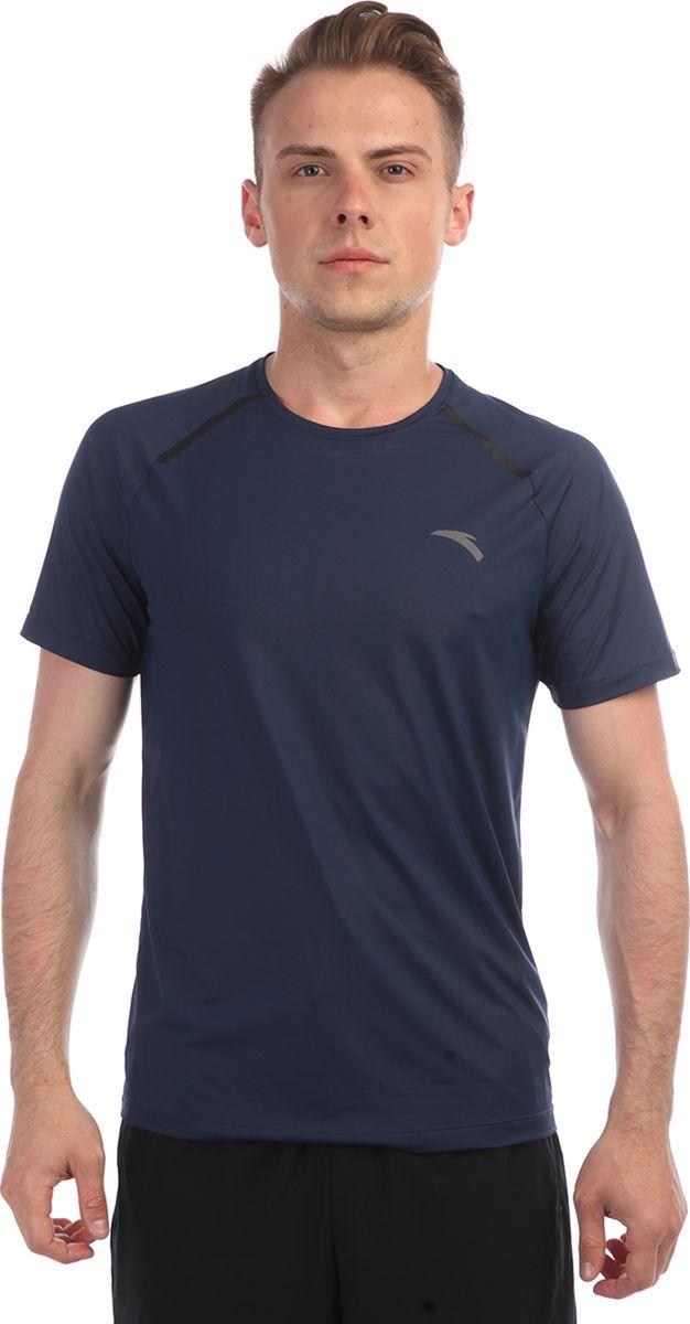Футболка мужская Anta, цвет: синий. 85835142-. Размер XL (52)