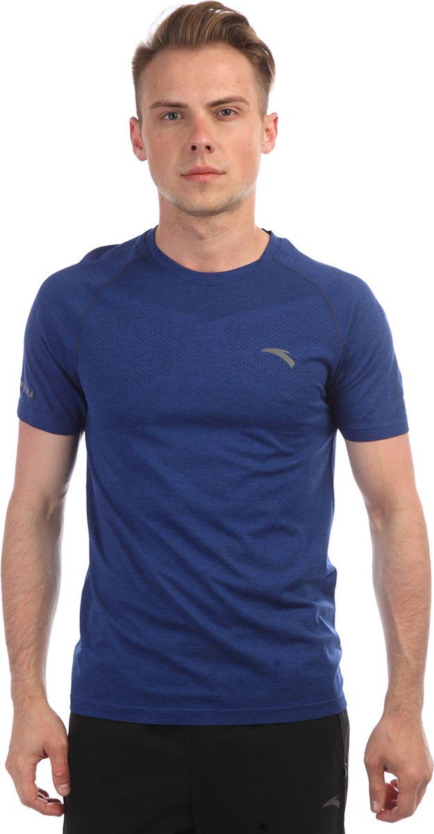 Футболка мужская Anta, цвет: синий. 85835146-2. Размер XXL (54)