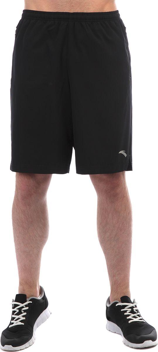 Шорты мужские Anta, цвет: черный. 85835305-1. Размер XXL (54)
