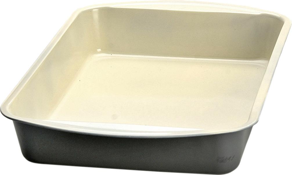 Противень Mayer & Boch изготовлен из высококачественной углеродистой стали с антипригарным керамическим покрытием. Керамическое жаропрочное покрытие безопасно и не содержит вредных примесей PFOA и PTFE. Противень быстро и равномерно нагревается, поэтому блюда в нем пропекаются хорошо. Перед каждым использованием противень необходимо смазать небольшим количеством масла. Такая посуда незаменима для приготовления запеканок и пирогов, а также блюд из мяса и овощей. После использования легко и быстро моется. Не использовать для мытья изделия абразивные моющие средства и губки с абразивным покрытием. Подходит для использования в духовках с максимальной температурой 250°С. Подходит для мытья в посудомоечной машине. Не подходит для использования в СВЧ.