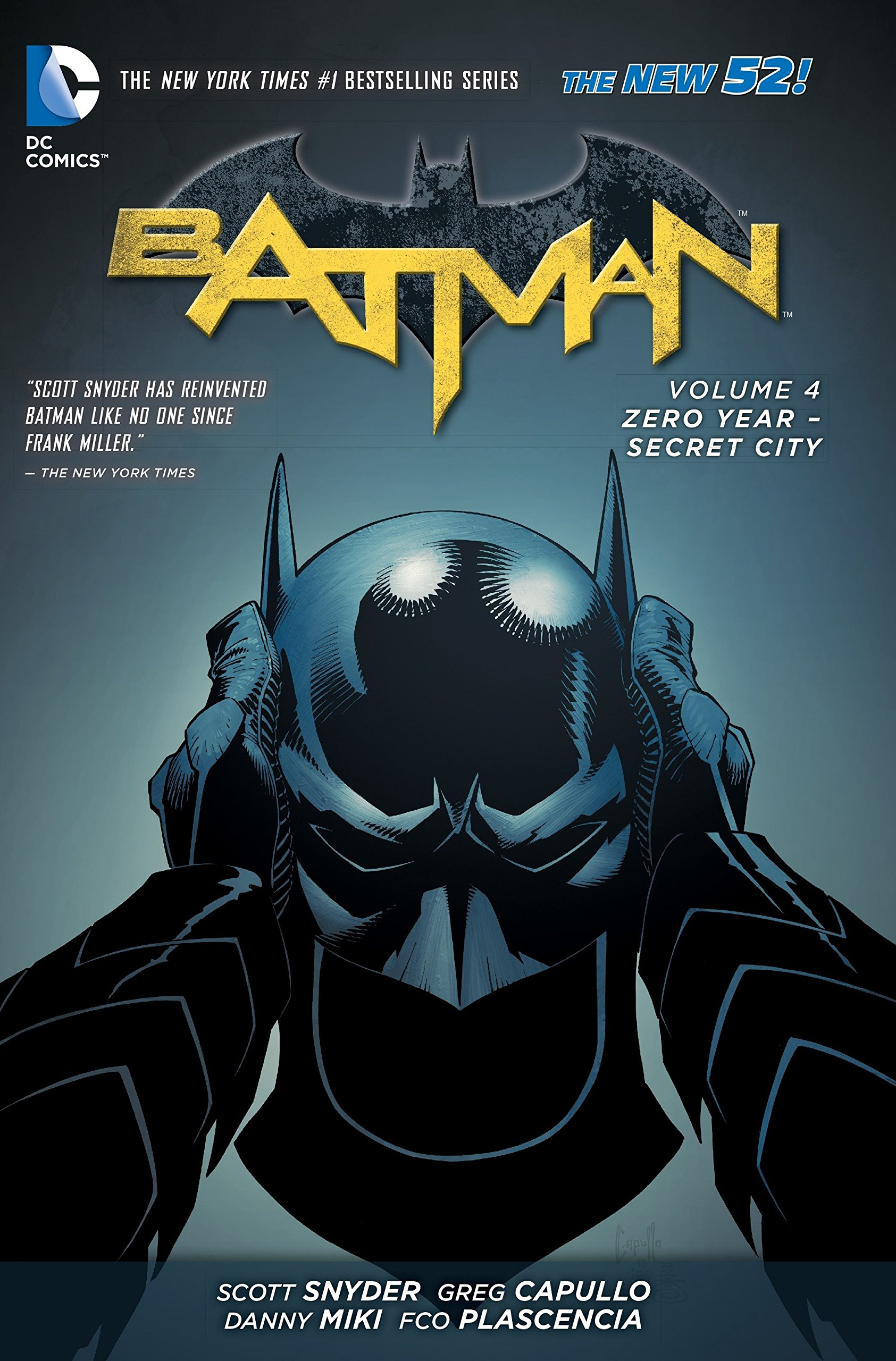 Batman Volume 4: Zero Year - Secret City