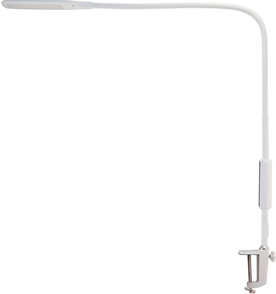 Светильник настольный Лючия L570 Fleksa, светодиодный, 9 Вт, цвет: белый