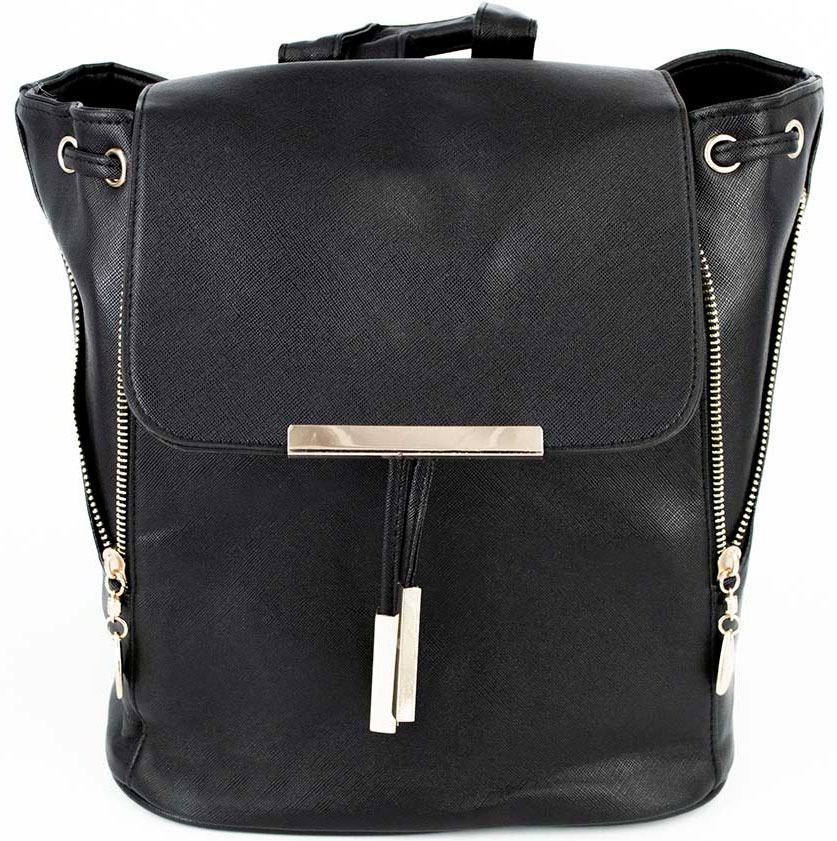 Рюкзак женский Kingth Goldn, цвет: черный. УТ-00001150
