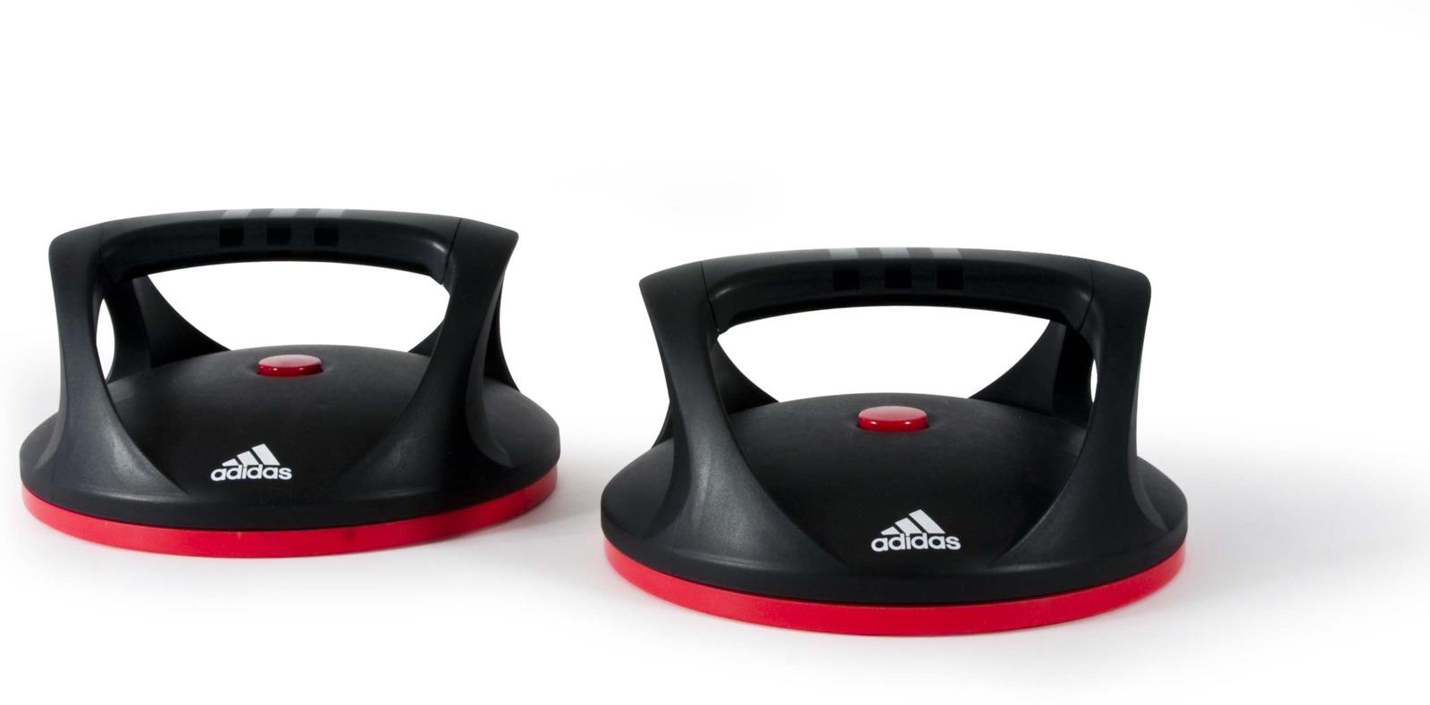 Упоры для отжиманий Adidas, поворотные, 2 шт упоры для отжиманий atemi металлические apu 02