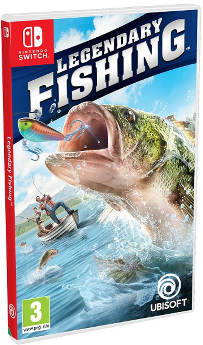 Legendary Fishing (Nintendo Switch), Bass Fishing