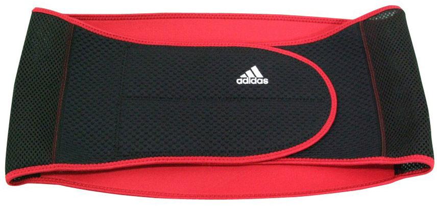 Фиксатор для поясницы Adidas, цвет: черный, размер S/M