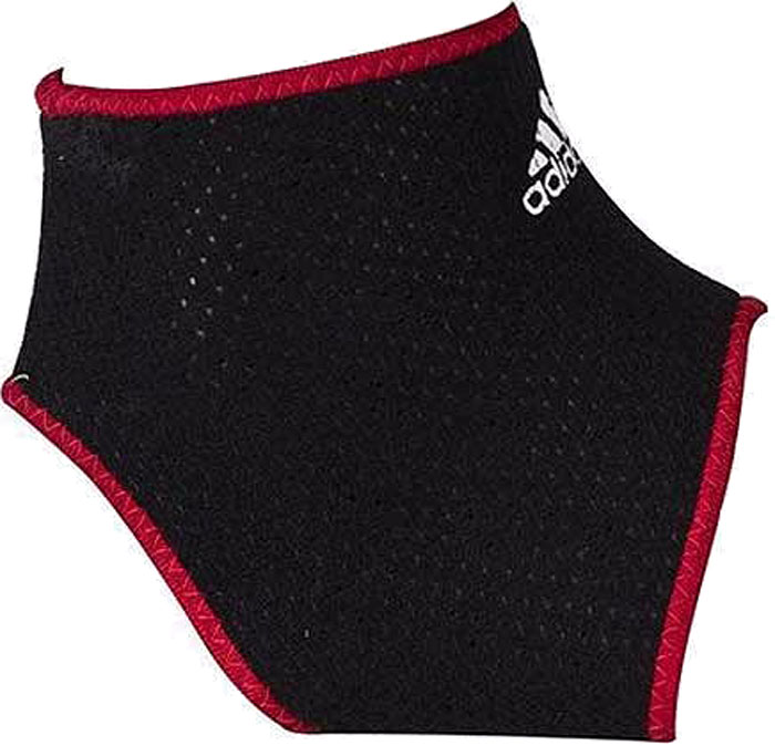 Фиксатор для лодыжки Adidas, цвет: черный, размер L/XL фиксаторы спортивные adidas фиксатор для поясницы размер l xl
