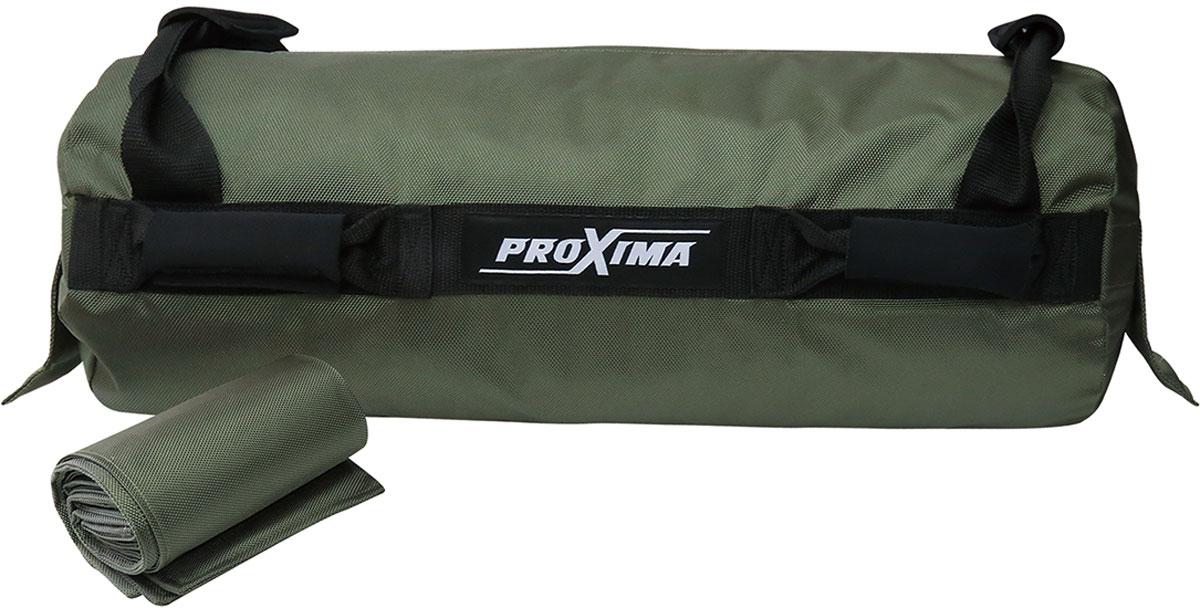 Сумка-утяжелитель для кросс-фита ProXima, цвет: зеленый. PSB-20