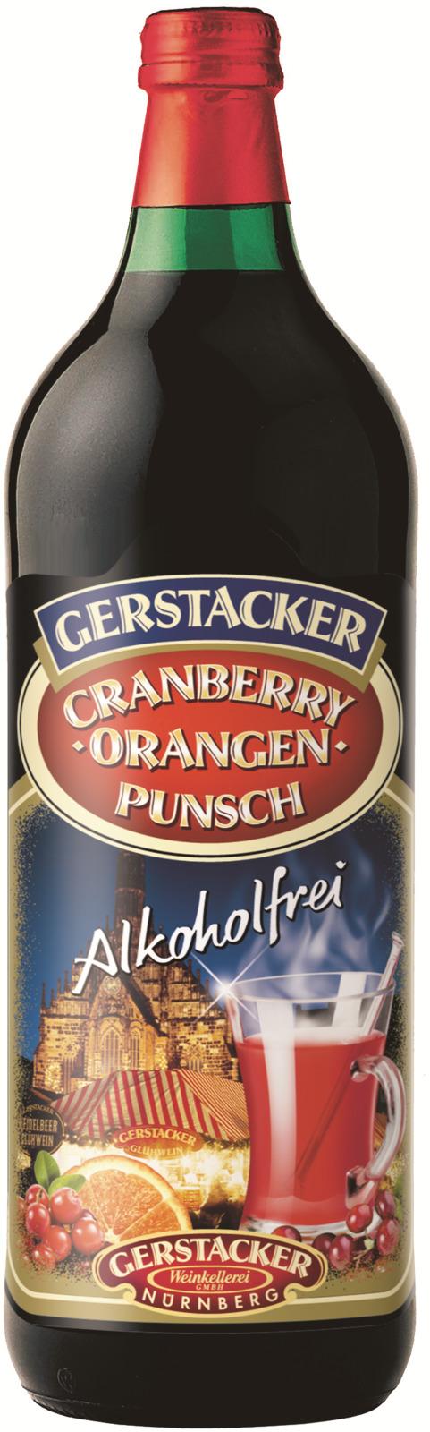 Напиток сокосодержащий Gerstaker Клюквенно-апельсиновый пунш, 1 л хлебная смесь апельсиновый хлеб с корицей