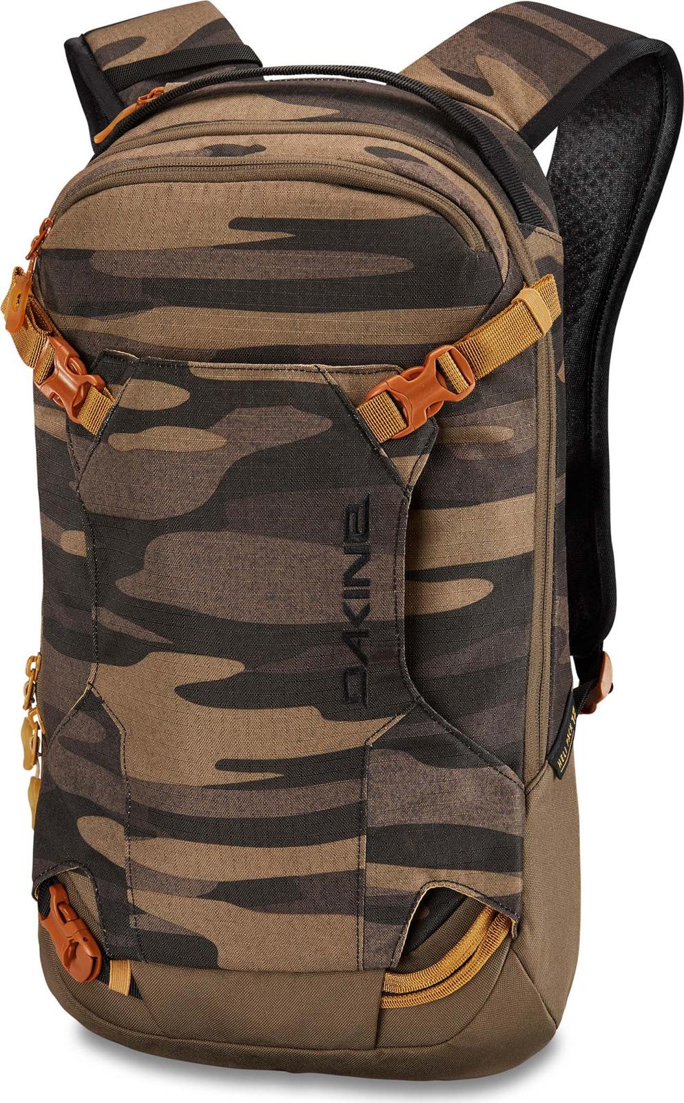 Рюкзак Dakine Heli Pack, цвет: камуфляж, 12 л oiwas ноутбук рюкзак мода случайные