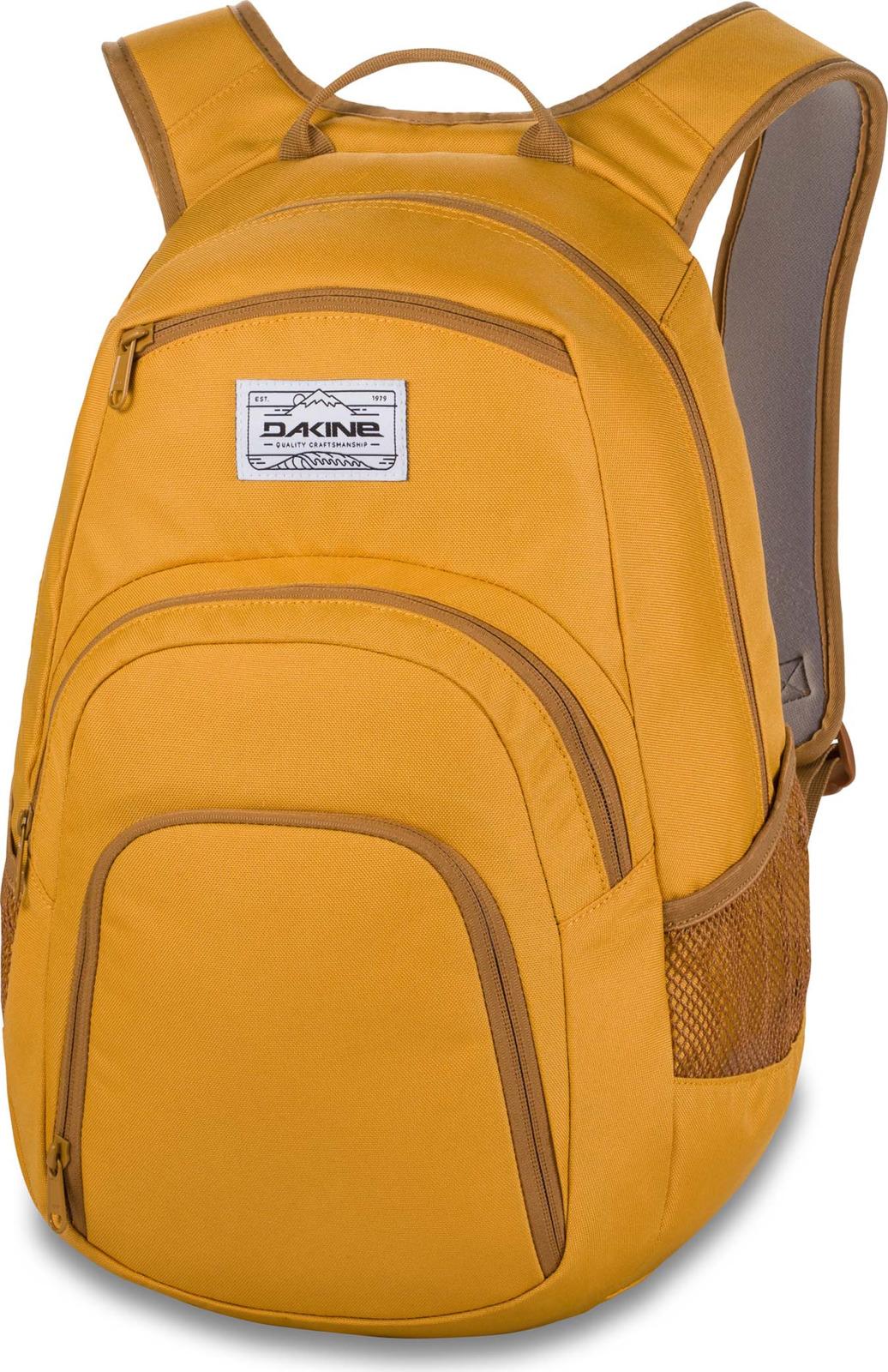 Рюкзак Dakine Campus, цвет: желтый, 25 л oiwas ноутбук рюкзак мода случайные