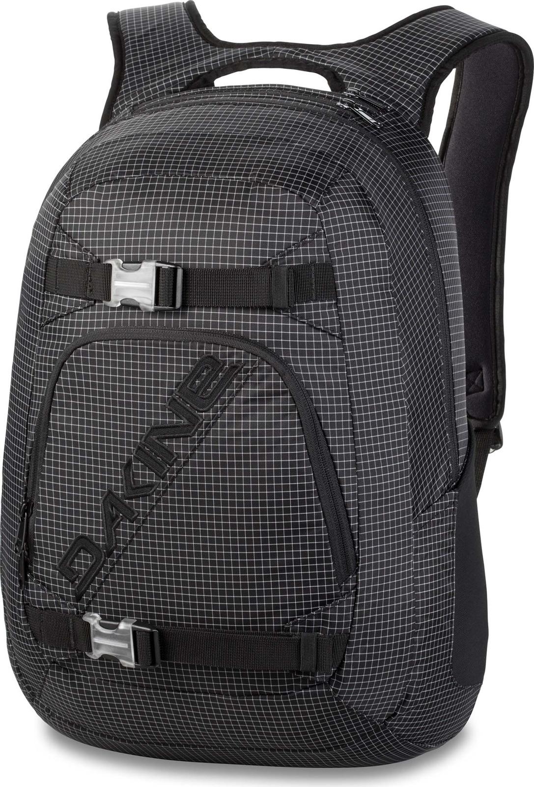Рюкзак Dakine Explorer, цвет: черный в клетку, 26 л пиджак moschino пиджак