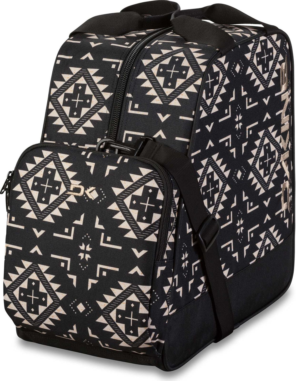 Сумка спортивная Dakine Boot Bag, цвет: черный, белый, 30 л