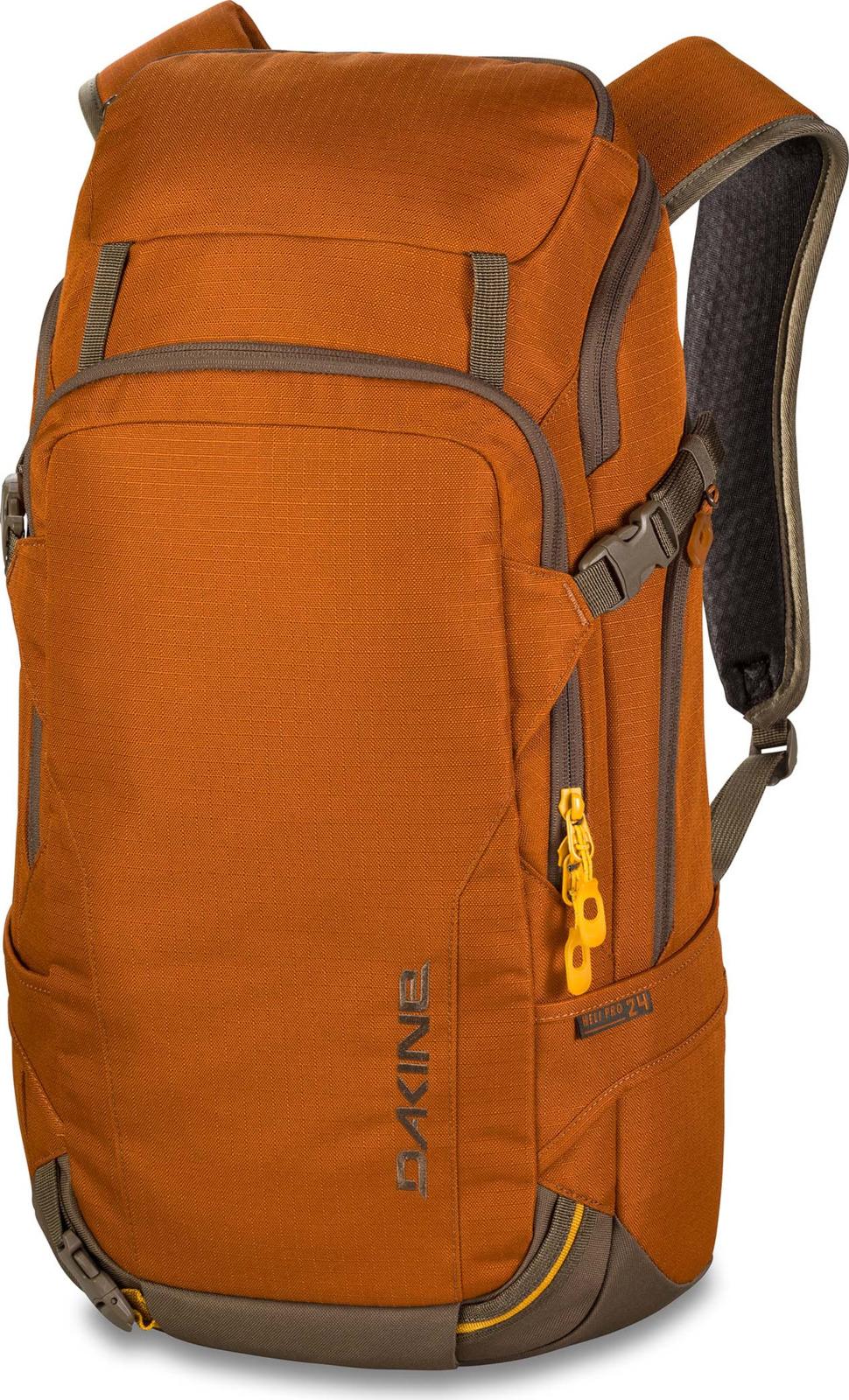 Рюкзак для сноубордистов или горнолыжников. Любой рюкзак из семейства HELI максимально приспособлен к катанию в горах. Объем - 24 литра. В спинке рюкзака есть карман для защиты спины (продается отдельно). Во время пеших перемещений лыжи или сноуборд можно подвесить к рюкзаку за специальные лямки. В основное отделение можно попасть как сверху рюкзака, так и со спины. Спереди большой карман для лопаты и щупа. Имеется карман для маски из мягкого флиса. Спереди петля для закрепления шлема. Свисток встроен в баклю на грудной перемычке. Анатомические лямки. Габариты : 58х30х15 см. Вес 1 кг.
