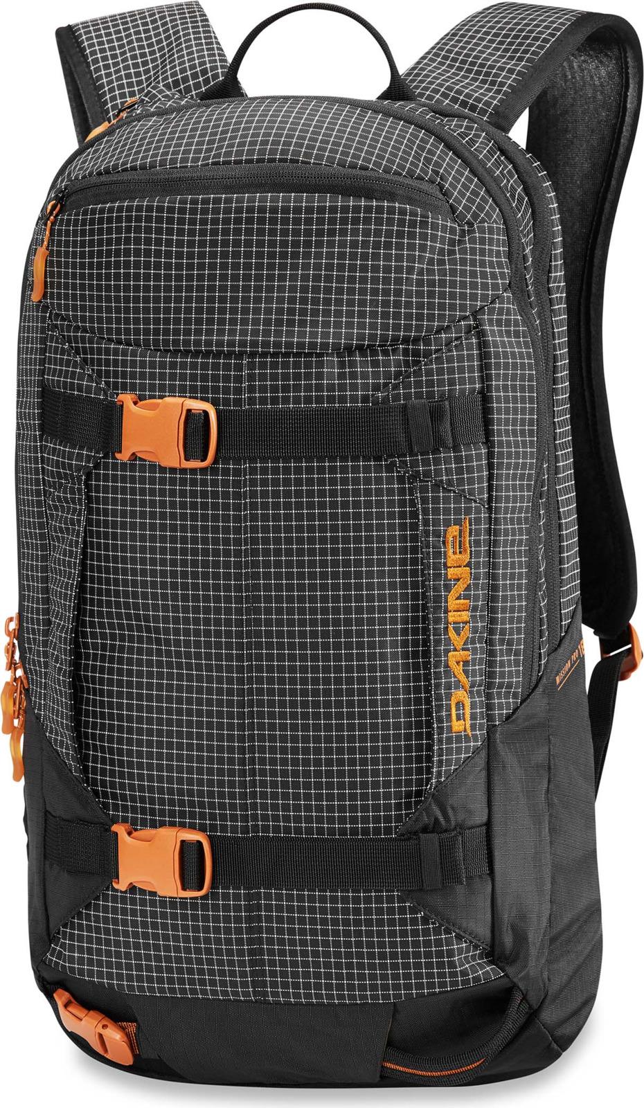 Рюкзак Dakine Mission Pro, цвет: черный в клетку, 18 л
