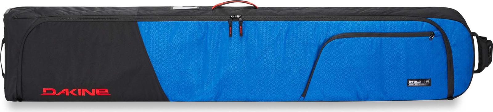 Чехол для перевозки сноубордов (или горных лыж). На колесах. Внутри съемная сумка для ботинок. Снаружи карманы для мелочей. Стенки чехла толстые и мягкие. Они защитят Ваше дорогостоящее оборудование при перевозке. Несколько ручек по периметру для удобства переноски чехла. Одна из ручек имеет специальную конструкцию, что бы состегивать ее с ручкой сумки на колесах. В такой чехол можно положить пару досок (одну без креплений), ботинки и часть одежды. Многие авиалинии допускают бесплатный провоз такого чехла в зимний период. Чехол промаркирован цифрами, соответствующими размеру доски, которую в него можно положить. Но, есть 2-3 см запас. Если у Вас доска очень длинная, длиннее 175 см - обратите внимание на чехол для лыж Fall line ski roller. Это практически такой же чехол, с теми же габаритами, но более длинный. Вес пустого чехла около 4 кг. Габариты: 178х30х15 см.