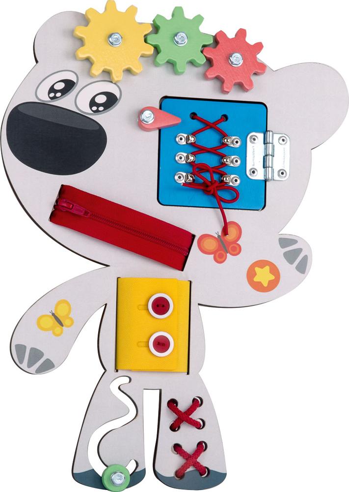 Бизиборд Ми-ми-мишки Тучка развивающая игрушка ми ми мишки бизиборд тучка