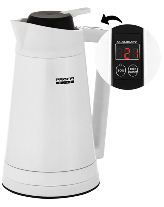 Proffi PH8842, White чайник-термос электрический