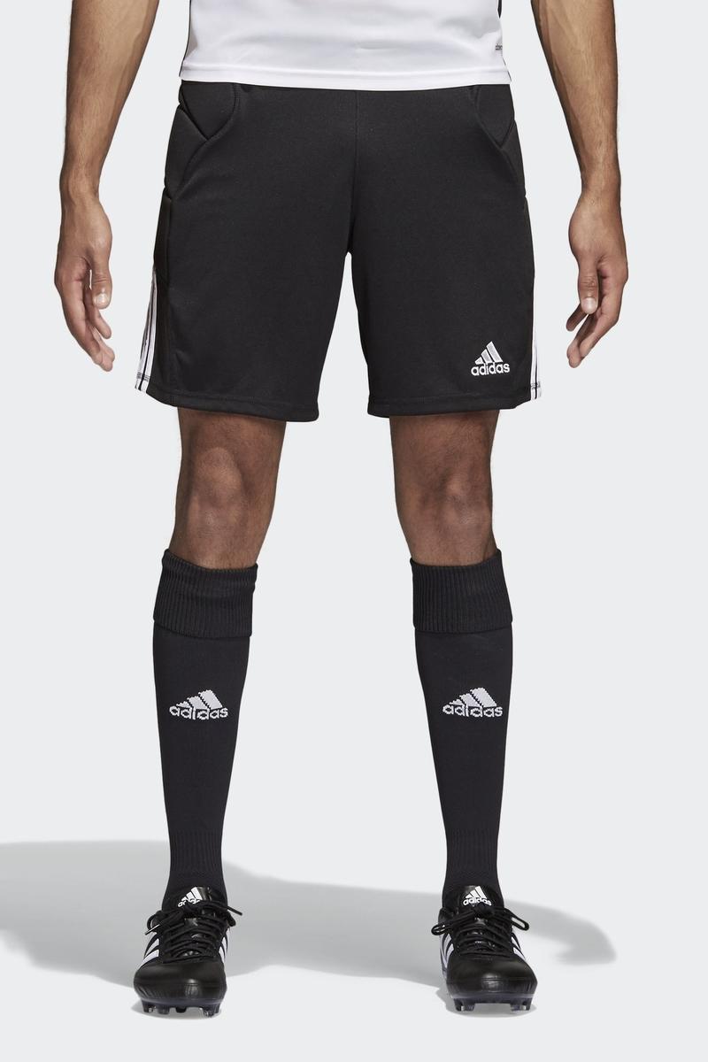 Шорты мужские Adidas Tierro13 Gk Sho, цвет: черный. Z11471. Размер XXL (60/62) шорты мужские adidas sn dual sho m цвет черный bq7245 размер xl 56 58