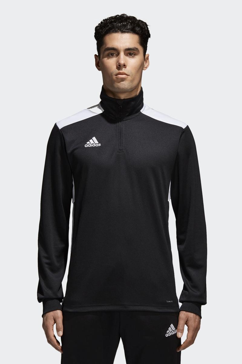 Толстовка мужская Adidas Regi18 Tr Top, цвет: черный. CZ8647. Размер XXL (60/62) толстовка мужская adidas regi18 tr top цвет черный cz8647 размер xxl 60 62