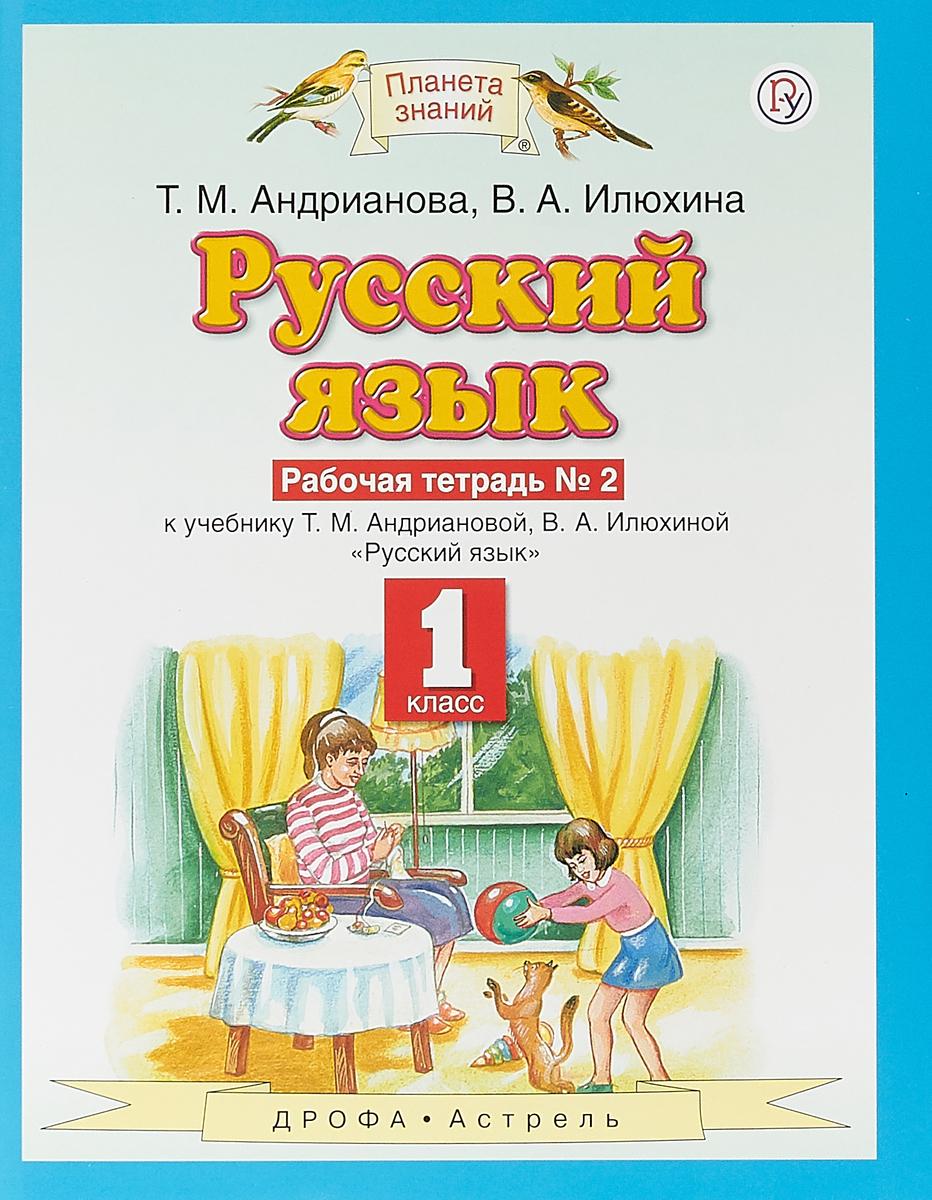 Русский язык. 1 класс. Рабочая тетрадь № 2. русский язык 1 класс рабочая тетрадь 1