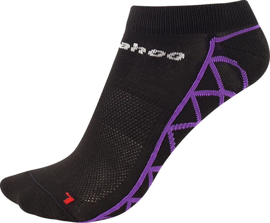 Термоноски Guahoo, цвет: черный, фиолетовый. 53-0953- PD / BK/VT. Размер 45/47 термоноски guahoo цвет черный g52 9453cw bk размер 43 46