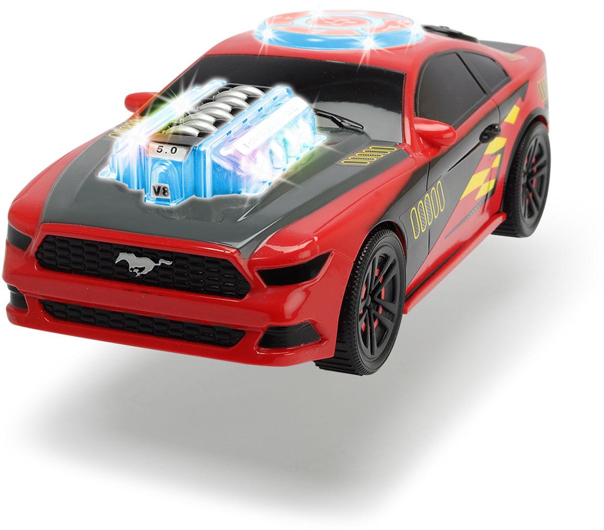 Машинка Dickie Toys Racing. Музыкальный гонщик, 23 см dickie toys звук акс