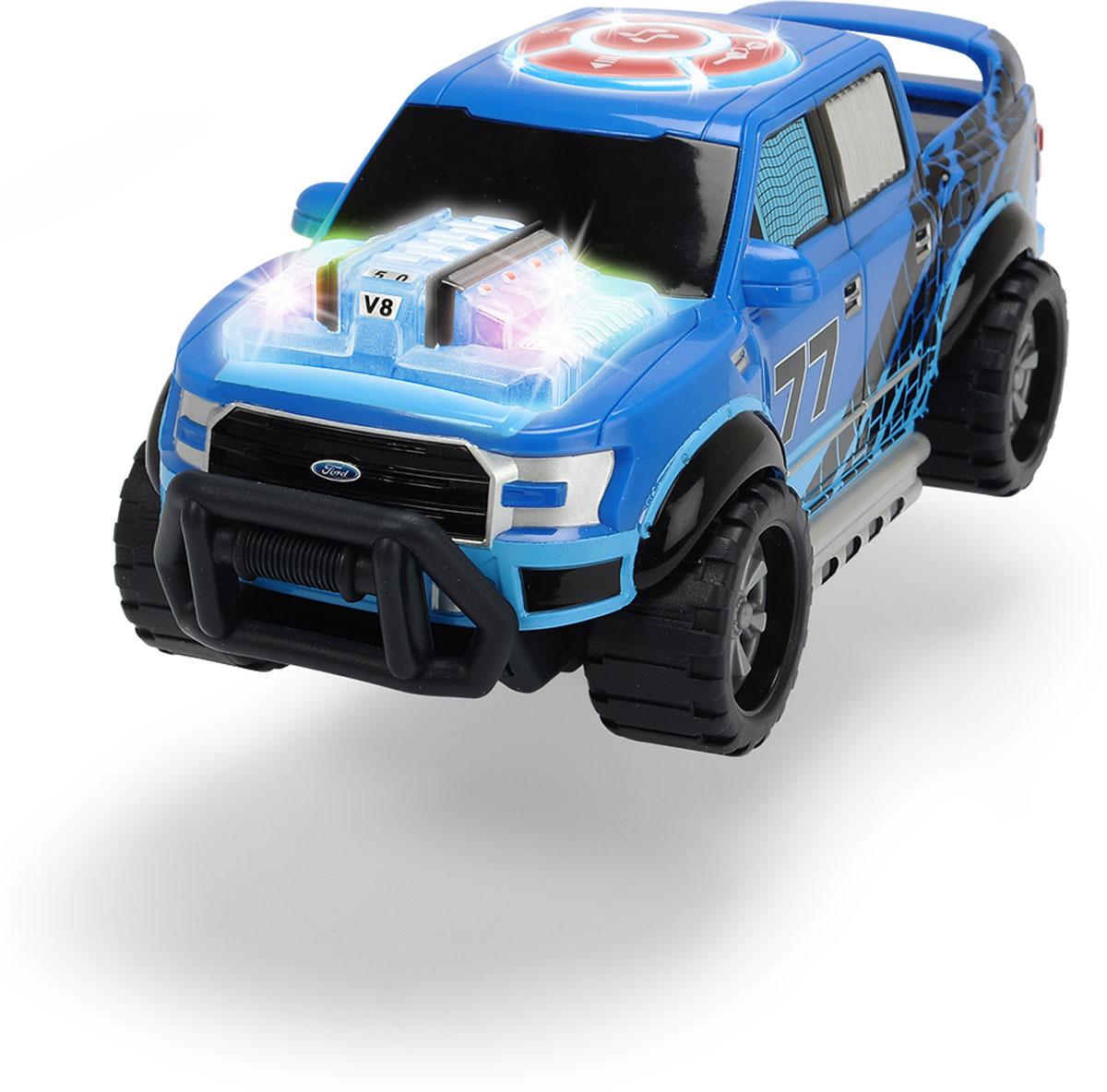 Машинка Dickie Toys Racing. Музыкальный грузовичок, 23 см dickie toys звук акс