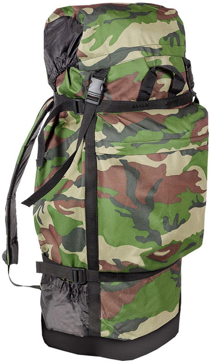 Рюкзак туристический Huntsman Боровик, цвет: камуфляж классический, 40 л картридж hp 130 c8767he для dj6543 8453 2573 6313 21мл черный c8767he