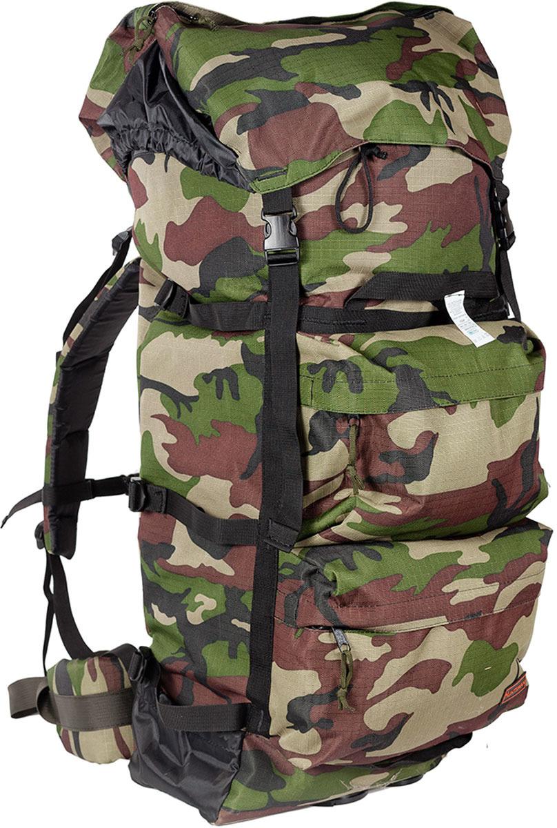 Рюкзак туристический Huntsman Пикбастон Air Mesh, цвет: камуфляж классический, 100 л air cushion mesh breathable athletic shoes