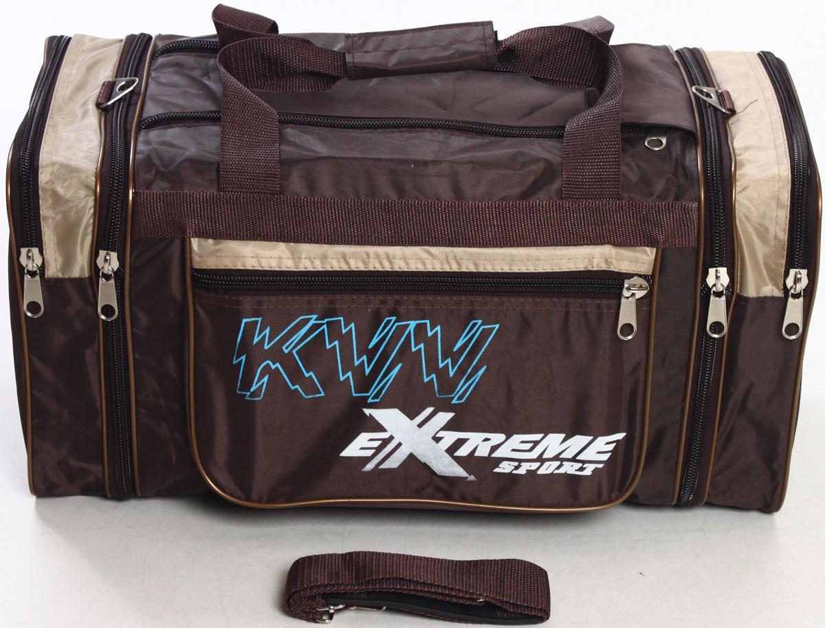 Сумка дорожно-спортивная Ibag, цвет: коричневый, бежевый, 38-45 л. 6328 м 10