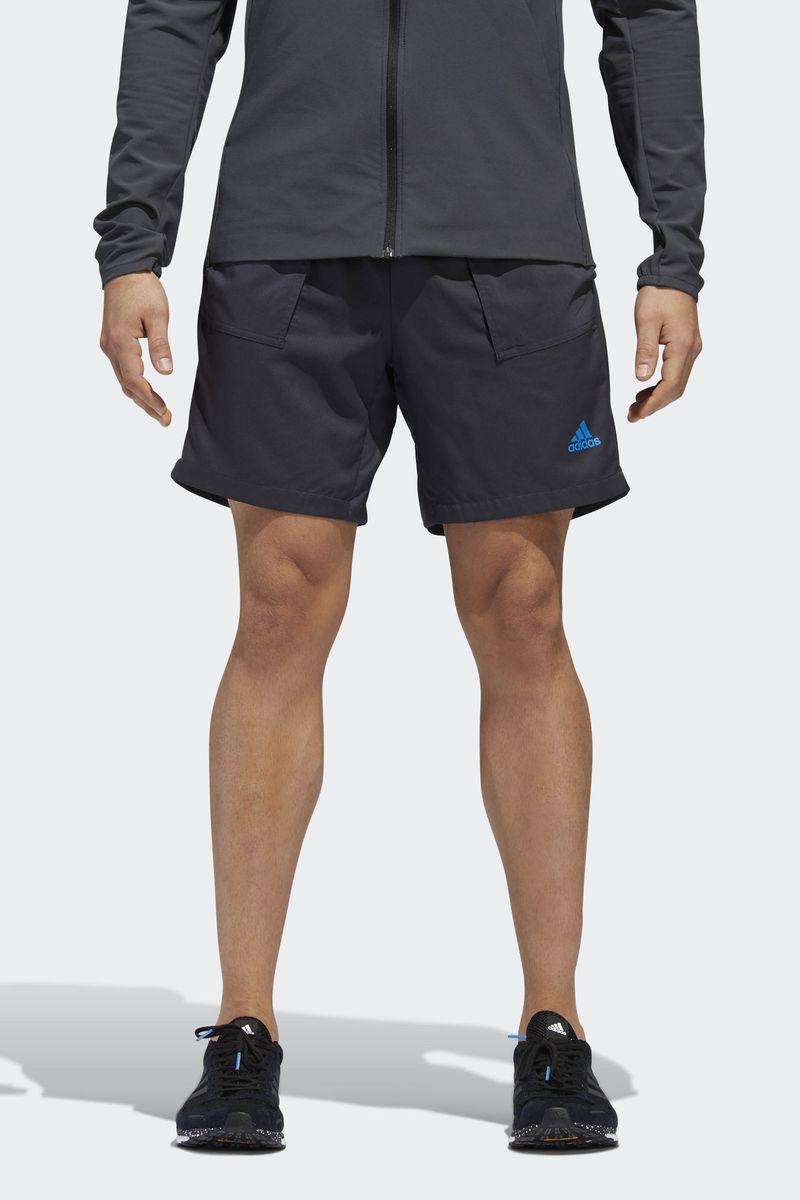 Ветровка мужская Adidas Response Jacket, цвет: черный. CY5738. Размер XXL (60/62) толстовка мужская adidas regi18 tr top цвет черный cz8647 размер xxl 60 62