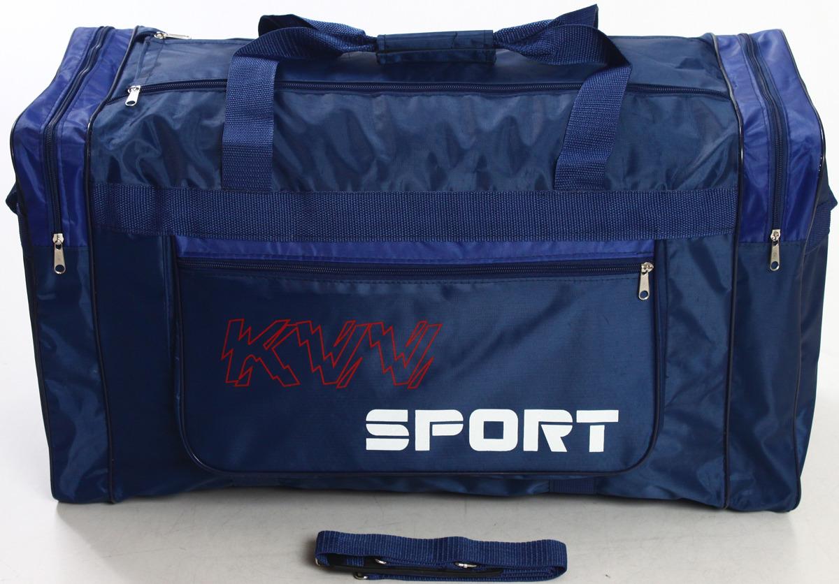 Сумка дорожно-спортивная Ibag, цвет: темно-синий, синий, 63 л. 6403/8