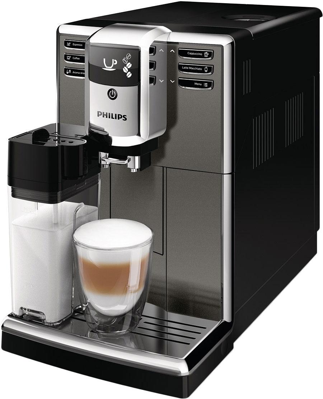 Кофемашина Philips Series 5000 EP5064/10, цвет: серый металлик, черный
