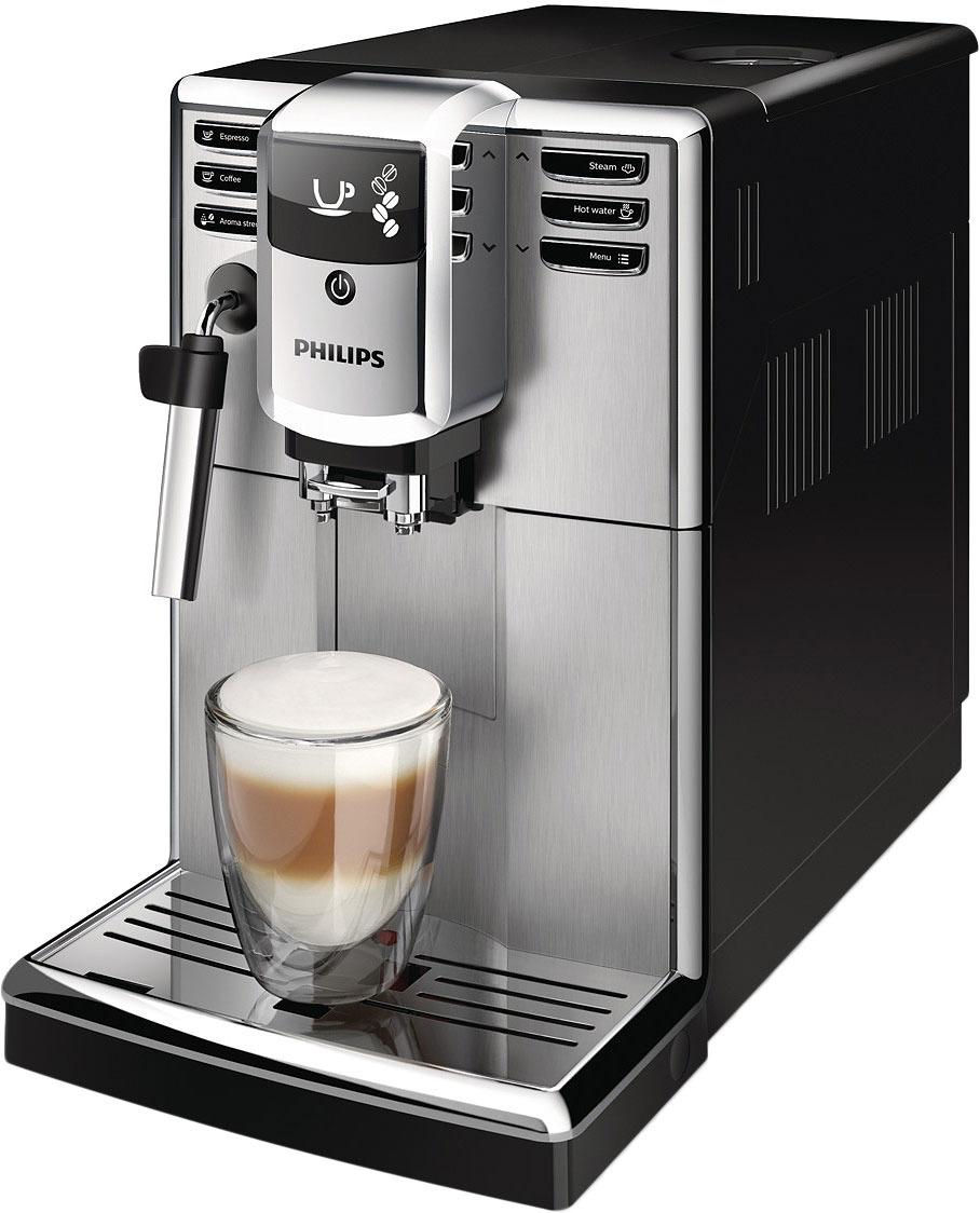 Кофемашина Philips Series 5000 EP5315/10, цвет: серебристый, черный