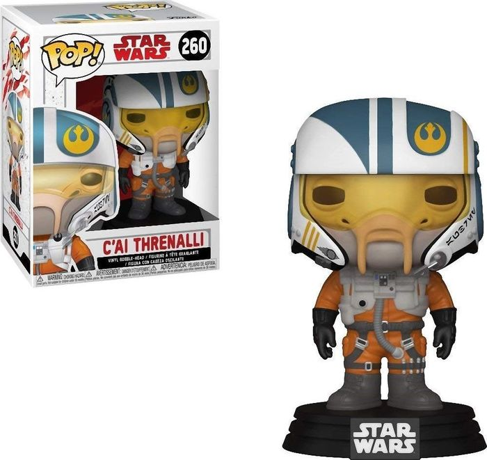 Фигурка Funko POP! Bobble: Star Wars: The Last Jedi: C'ai Threnalli 31793 цена